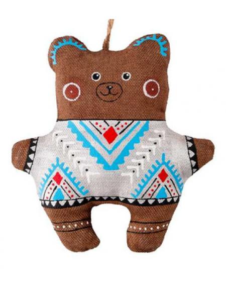 Coffee bear in a sweater