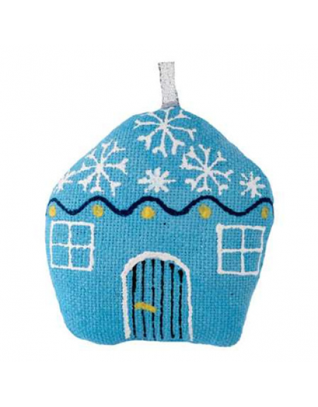 The small blue hut