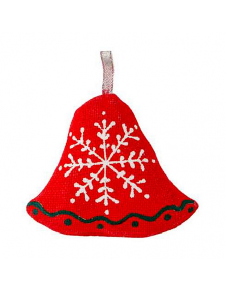 Bell with snowflakes