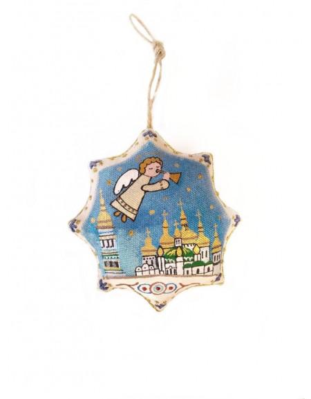 "Handmade souvenir star ""Kyiv-Pechersk Lavra"""