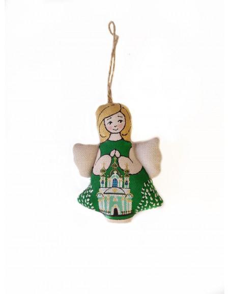 "Handmade souvenir angel ""St. Andrew's Church"""