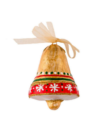 Christmas bell with snowflakes