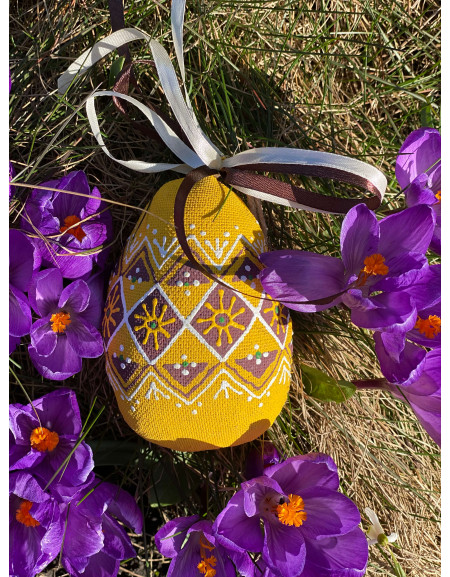 Big Yellow Easter egg