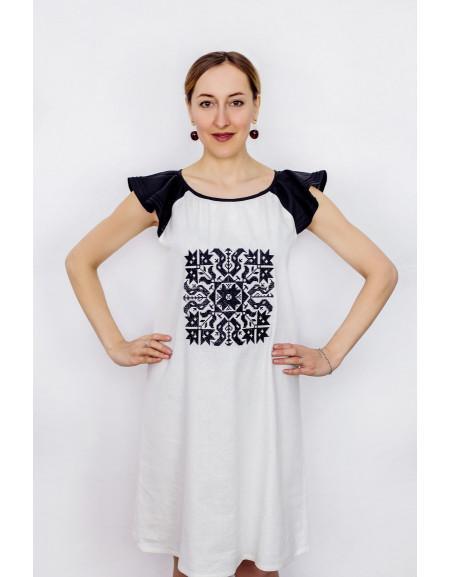 Сукня літня лляна Zirka