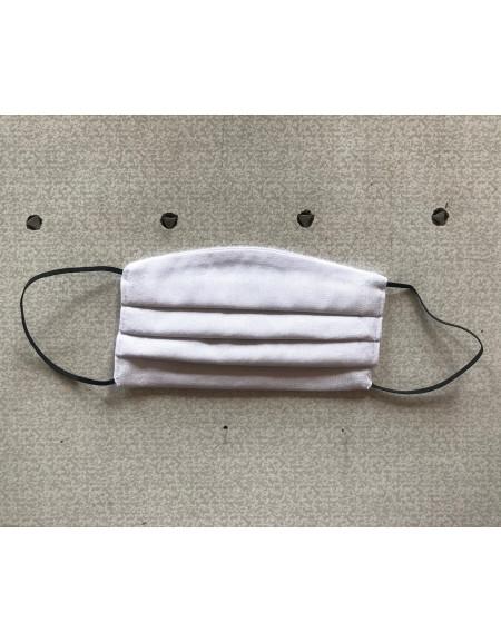 White Textile Reusable Mask