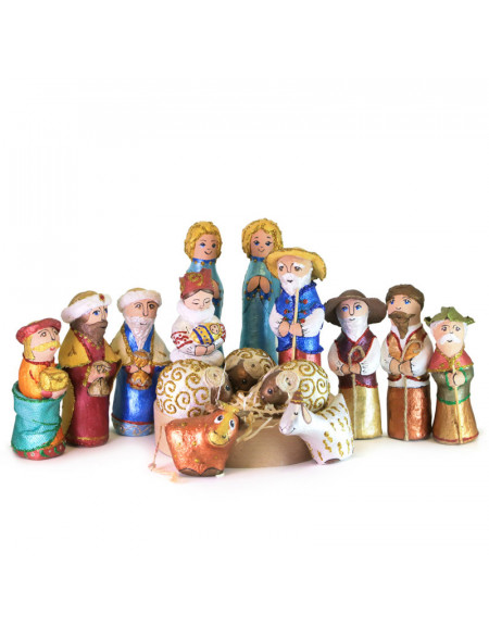 Sculpture Nativity Play in Ukrainian style