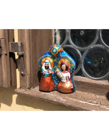 Шопка скульптурна композиція «Свята родина»