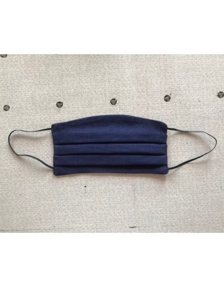 Blue Textile Reusable Mask