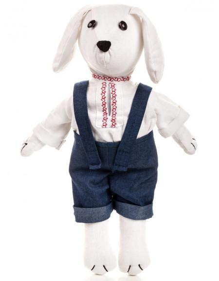 Textile dog-boy