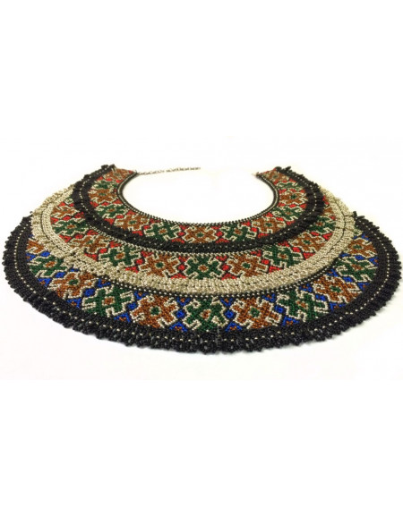 Hutsul Beaded Necklace