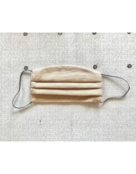 Beige Textile Reusable Mask