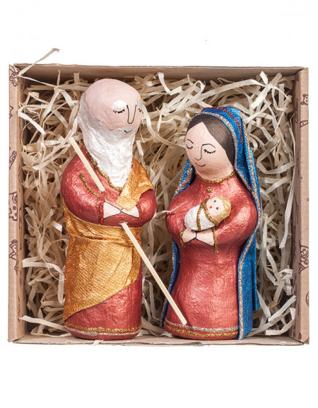 Set №07 • Joseph and Mary in a craft box