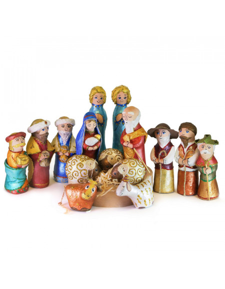 Sculpture Nativity Play