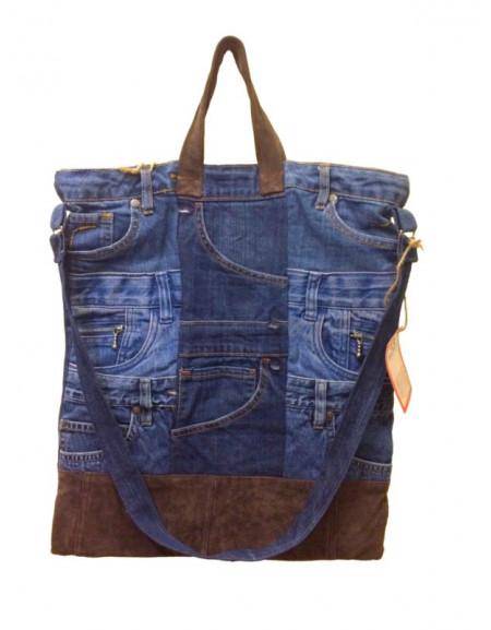 Female jeans bag