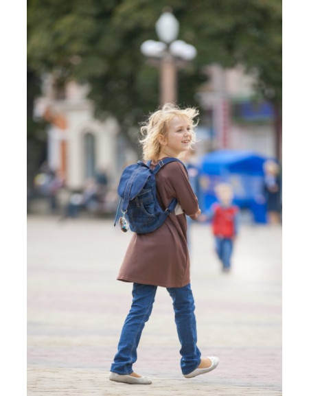Jeans mini backpack