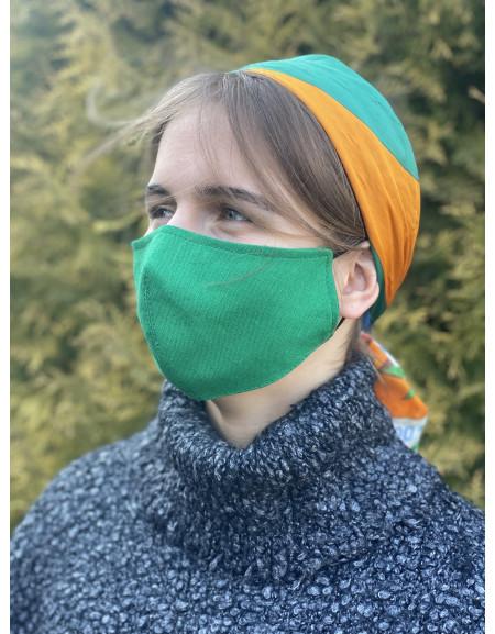 Reusable mask green