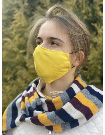 Reusable mask yellow