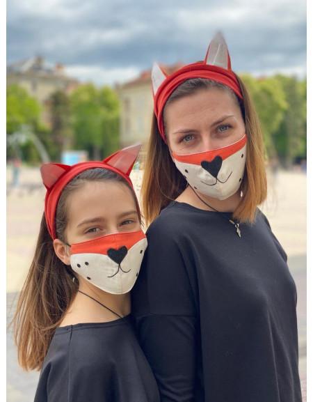 Mask & Headband Set 'Fox'