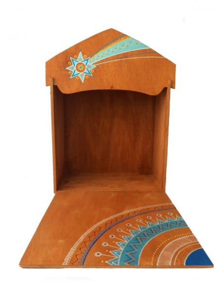 Коробка під шопку текстильну 32Х32