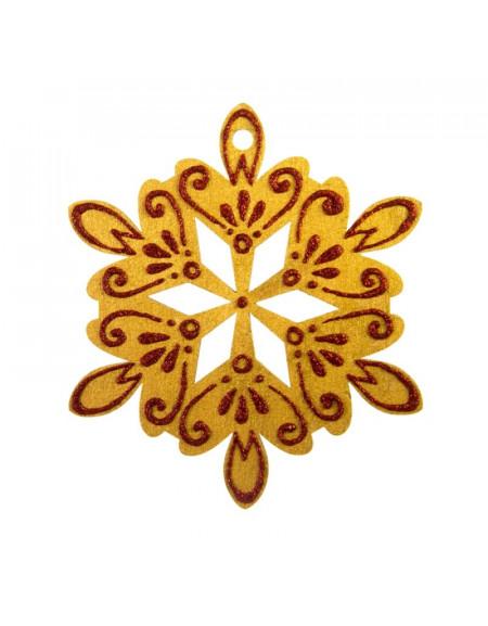 Big Golden Snowflake