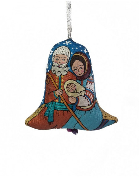 Textile bell Holy Family
