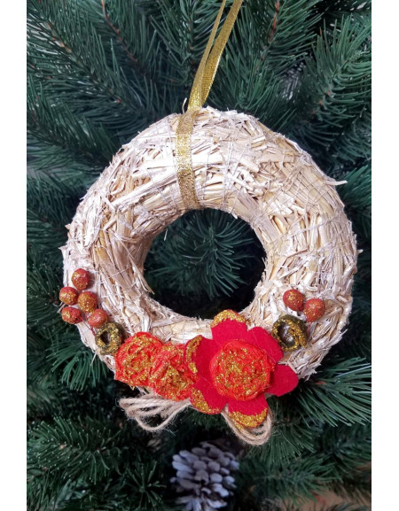 Small Gold Wreath