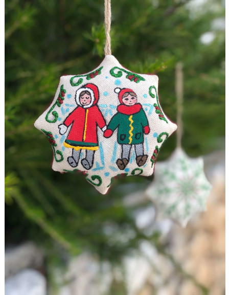 Vanilla Christmas Star «Kids Make Angels»