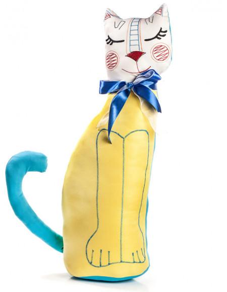 Кот текстильный высокий брендированный