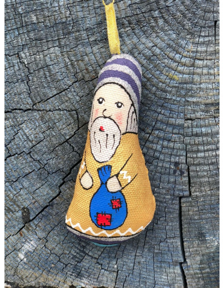 Dwarf with a Blue Sack