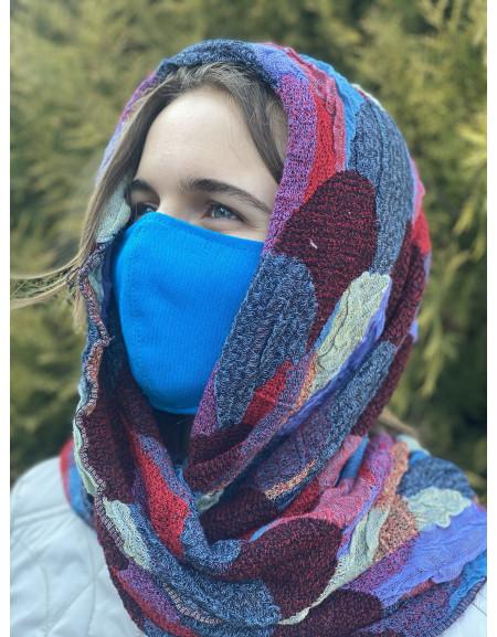 Reusable mask blue