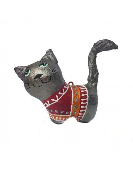 Котик в малиновій сорочці