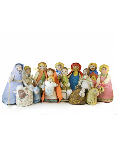 Textile Nativity Play