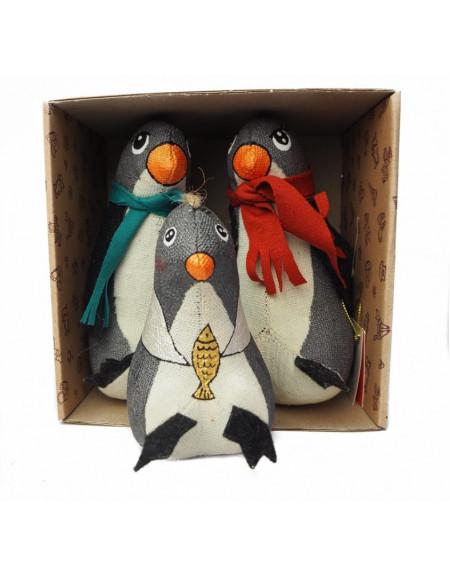 Set «Penguins family»