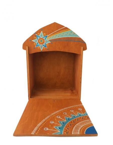 Коробка під шопку скульптурну 22Х22