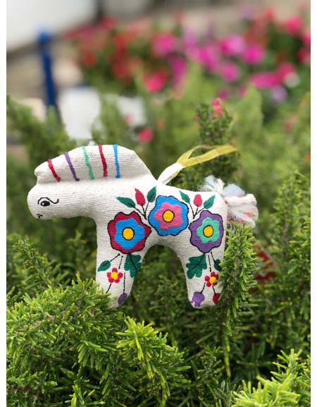 Flowered Horse
