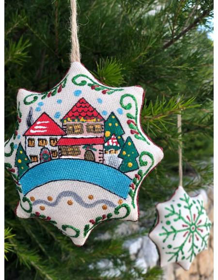 Vanilla Christmas Star «Winter City»