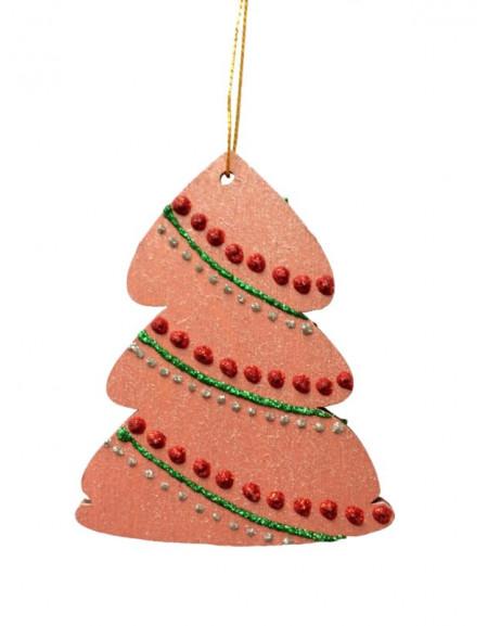 Marsala Painted Christmas Tree