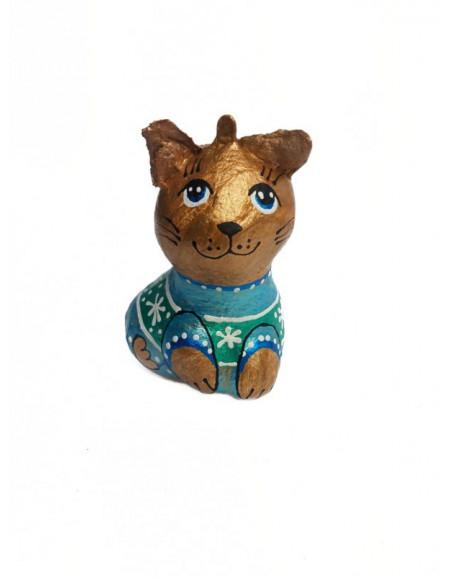 Котик в синьому сведрику