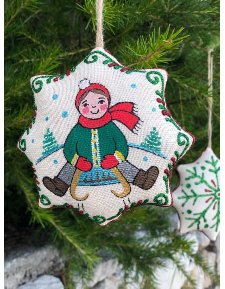 Vanilla Christmas Star «Sledding»