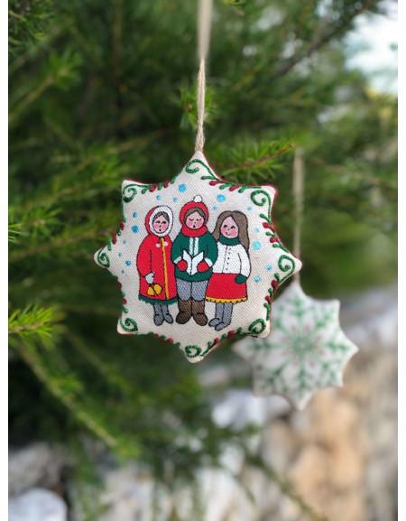 Vanilla Christmas Star «Ringing Bells»