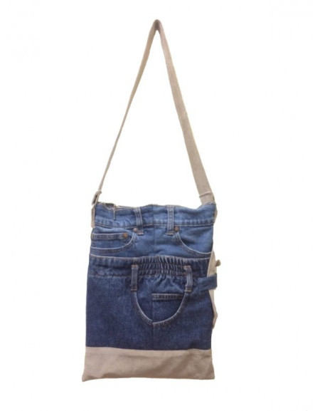 Men's jeans bag
