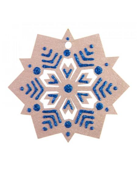 Small Silver Snowflake
