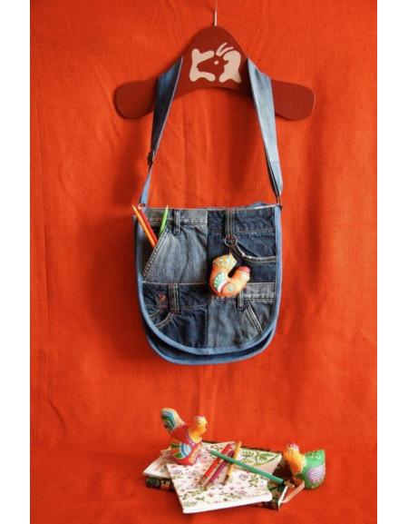 Jeans Bag «Сheckerboard»