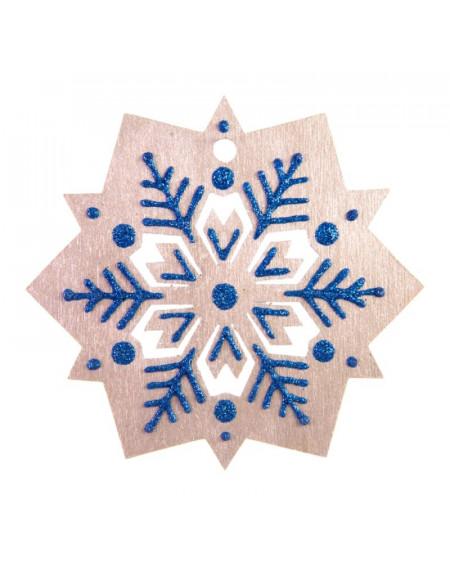 Medium Silver Snowflake