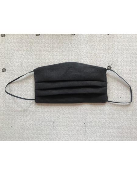 Black Textile Reusable Mask