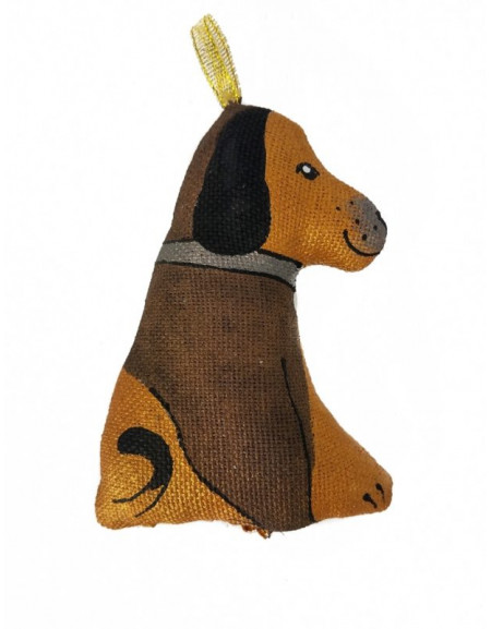 Handmade toy the Hound of the Baskervilles